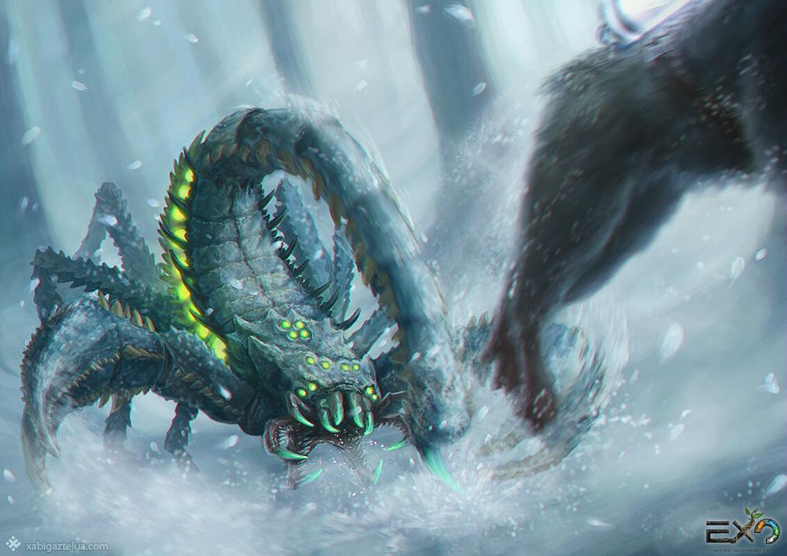 Xabi gaztelua alpha scorpion vs chi low