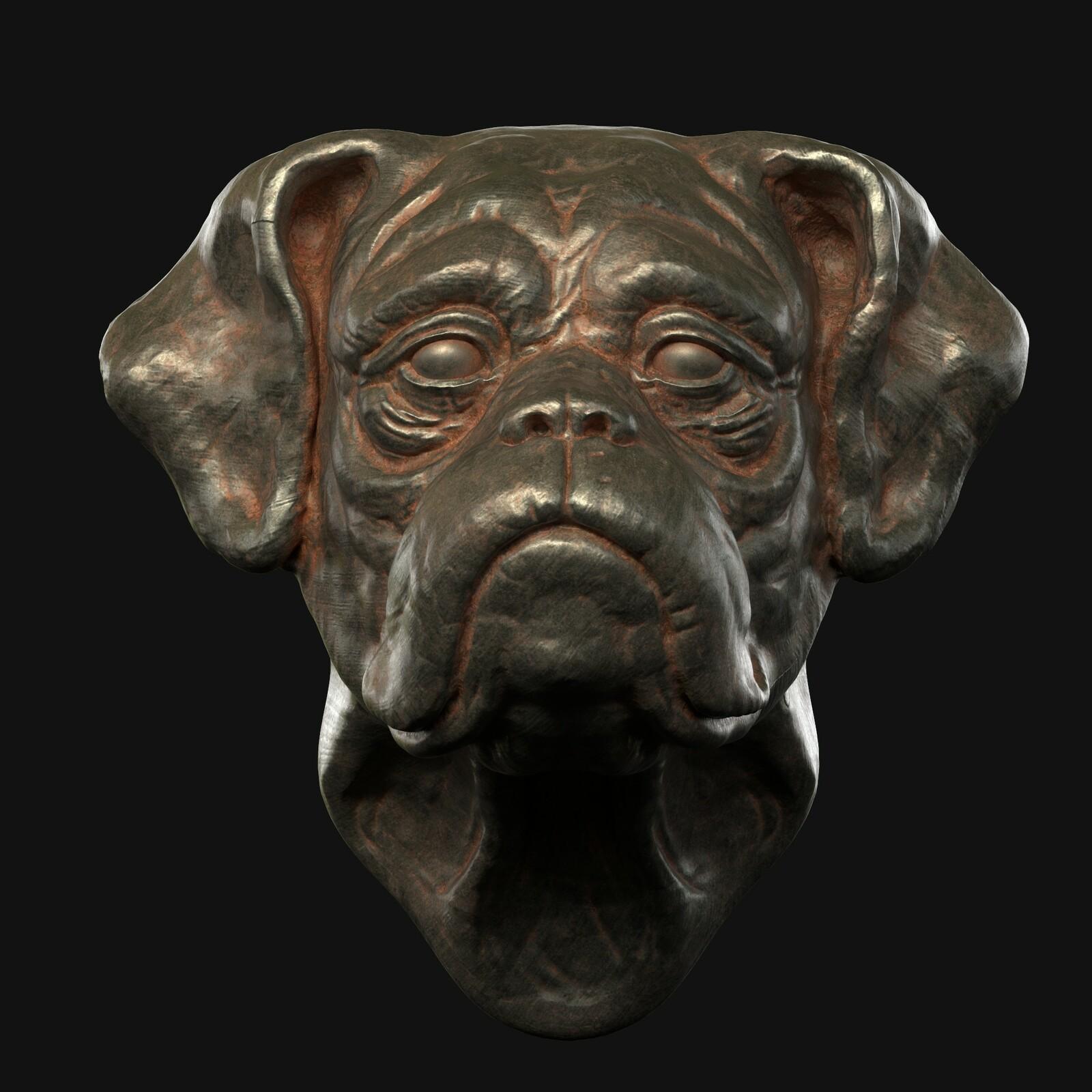 boxer sculpt wip