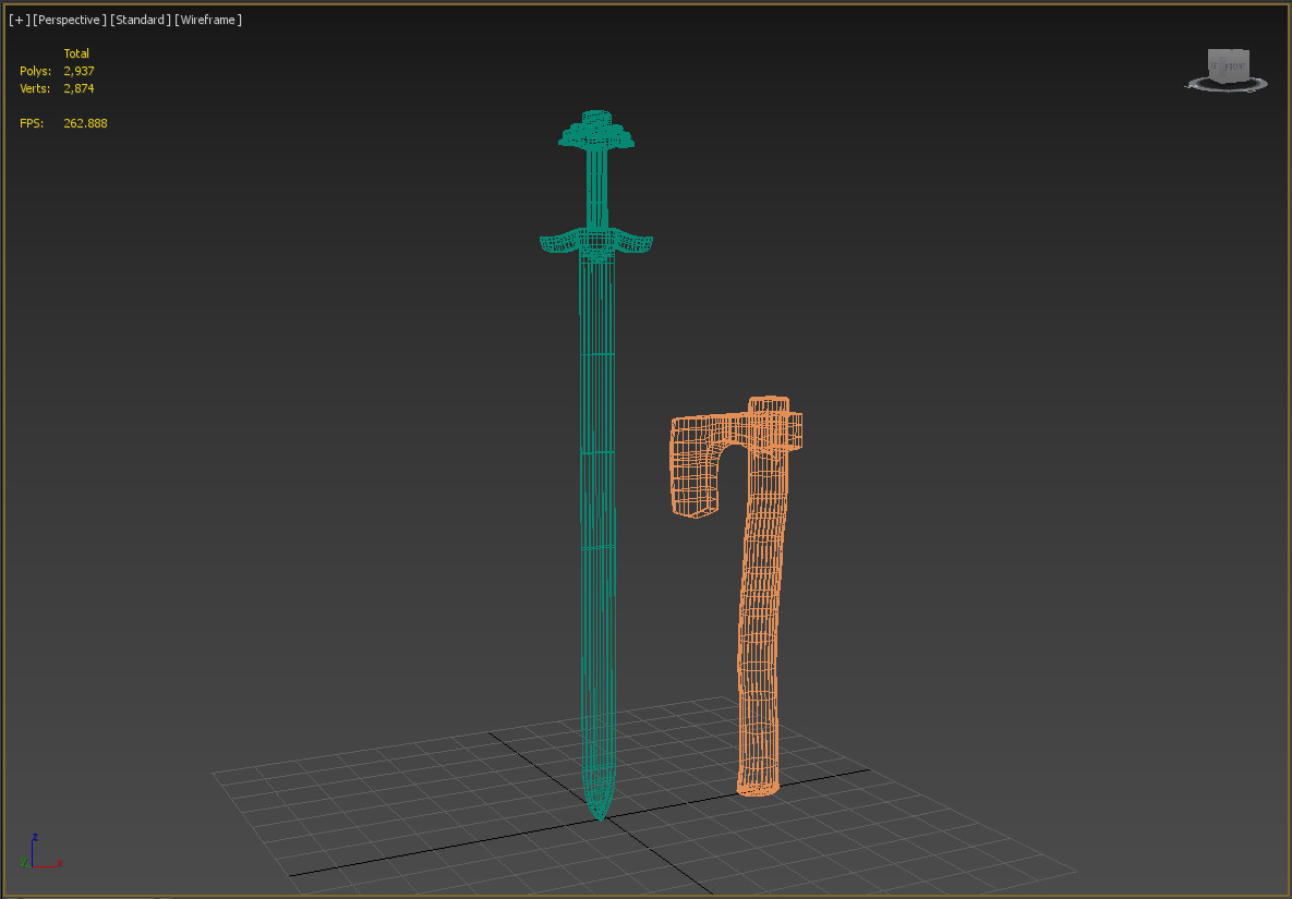 James skinner weapon wireframes1