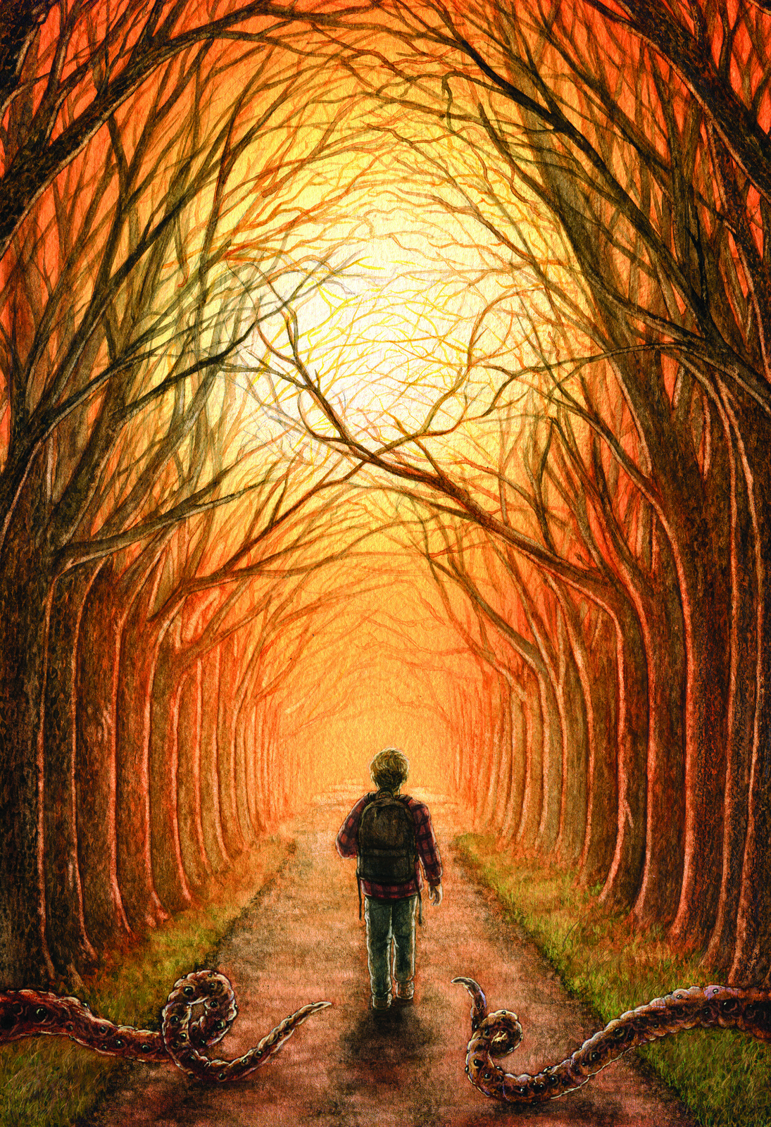 """Between Twilight & Dawn"" - unused cover"