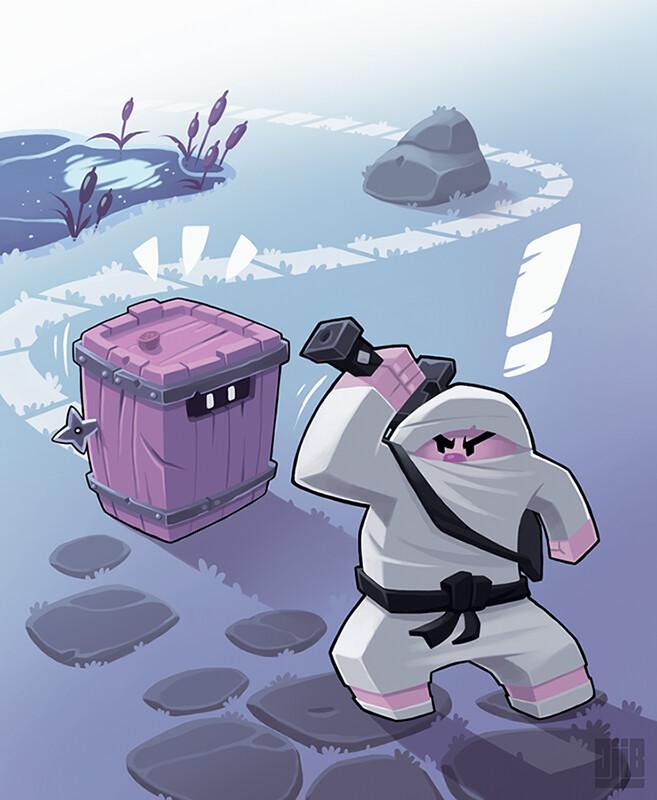 Jean baptiste djib reynaud ninja academy epreuves infiltration