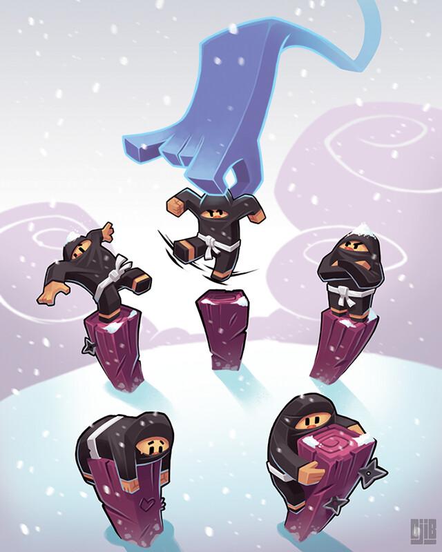 Jean baptiste djib reynaud ninja academy epreuves coordination