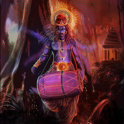 Vibhas virwani art shiva