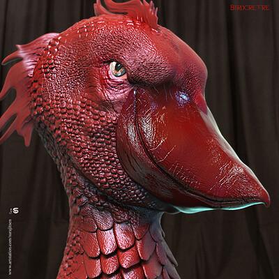 Surajit sen birdcretre digital sculpture surajitsen aug 2019 copy