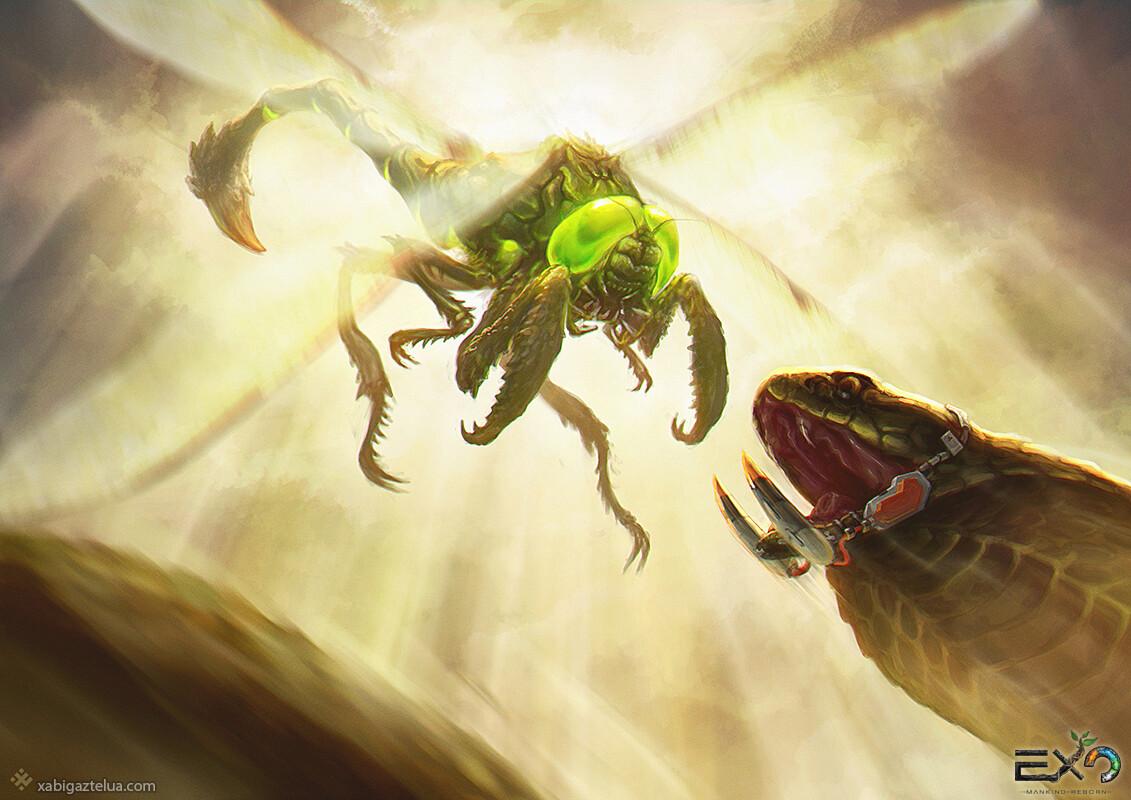 [EXO: Mankind Reborn] - Alpha Dragonfly vs Nzila
