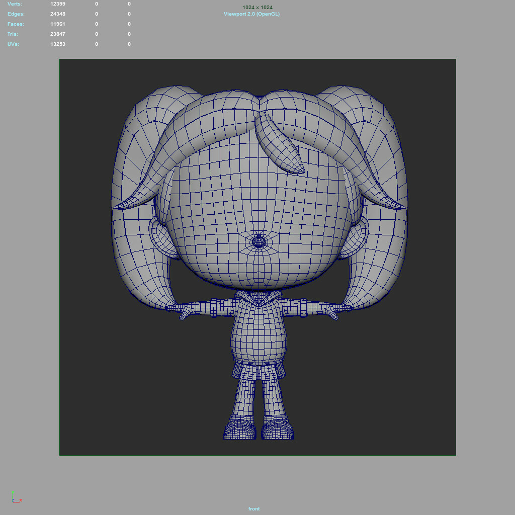 Bee Wireframe