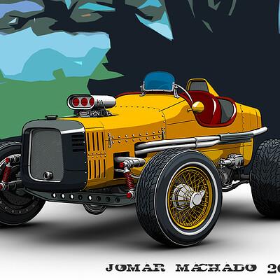 Jomar machado 208 yellow thunder