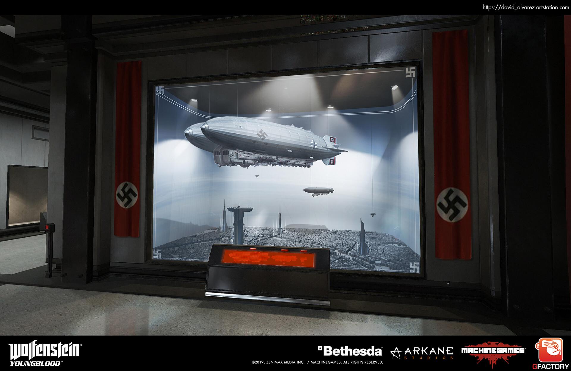 David alvarez dalvarez gf mg yb diorama zeppelins