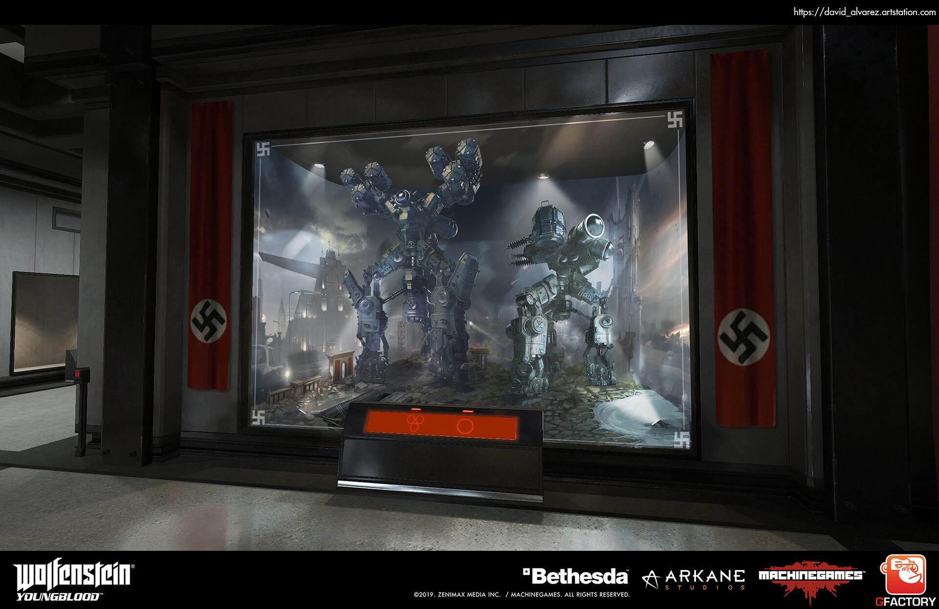 David alvarez dalvarez gf mg yb diorama monitors