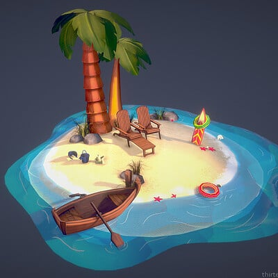 Beach   ( In House Project )