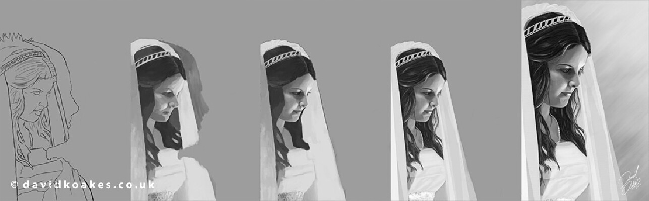 The Bride - process