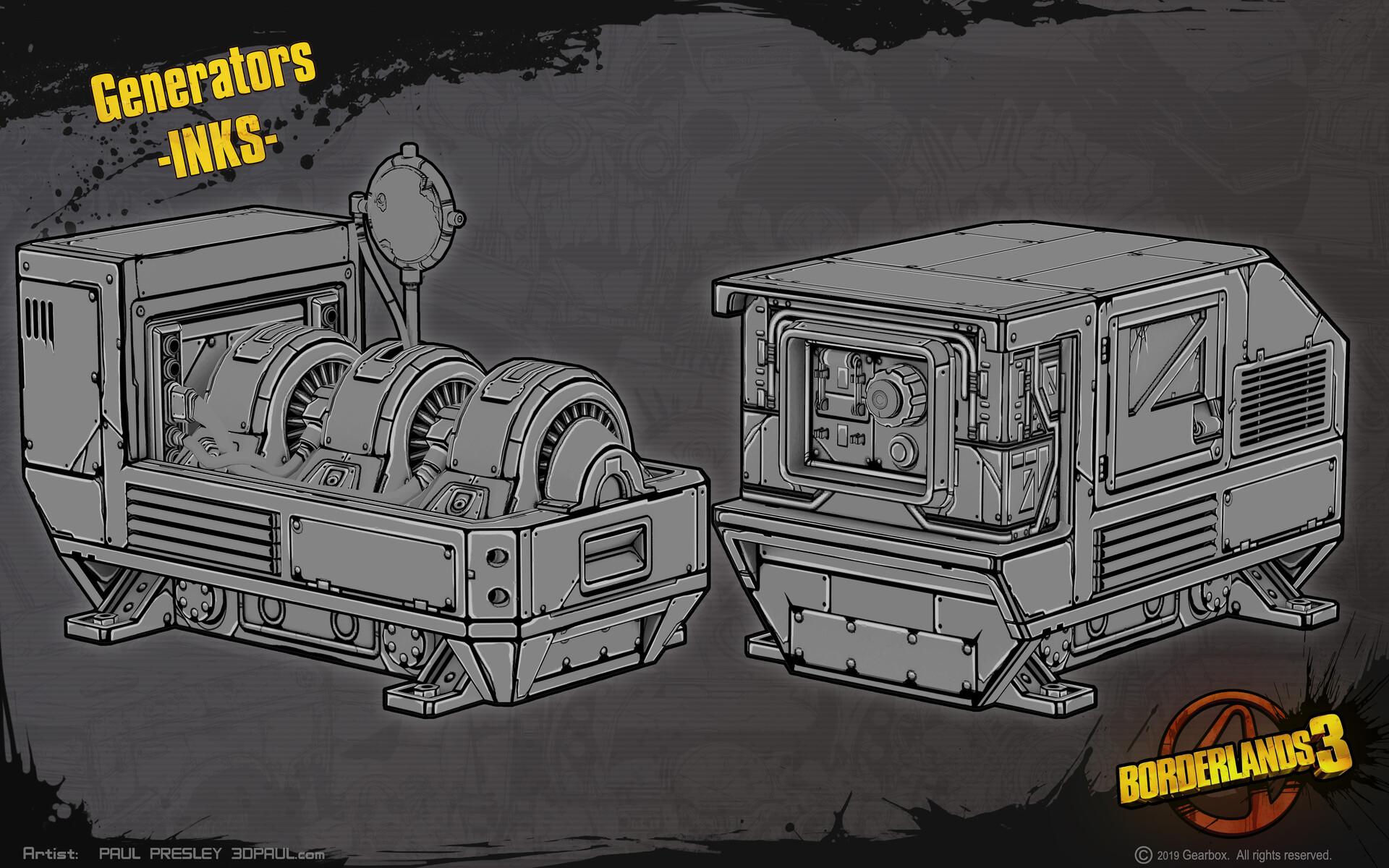 Paul presley inks paulp generators open