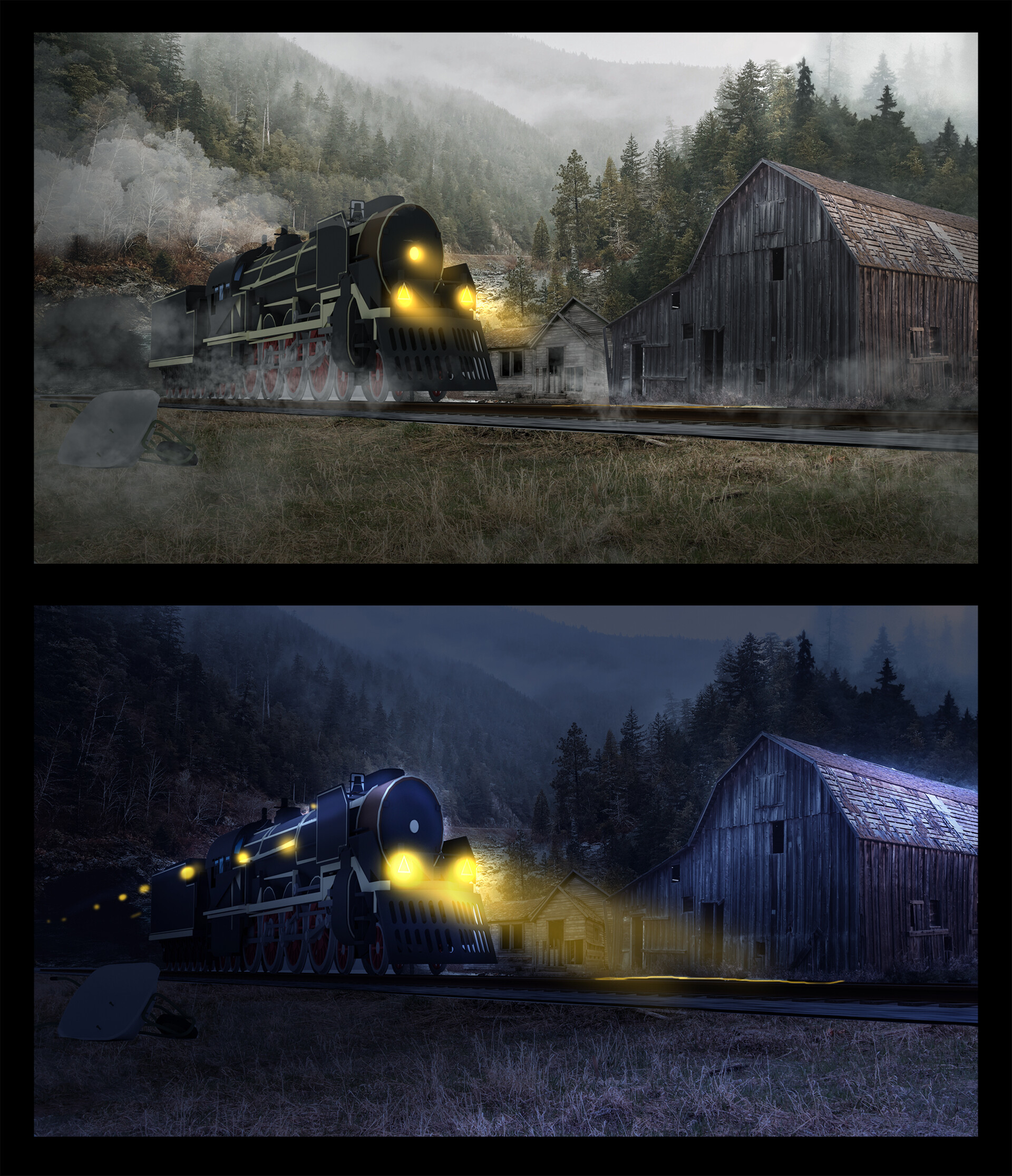 Danny kundzinsh train exterior color comps