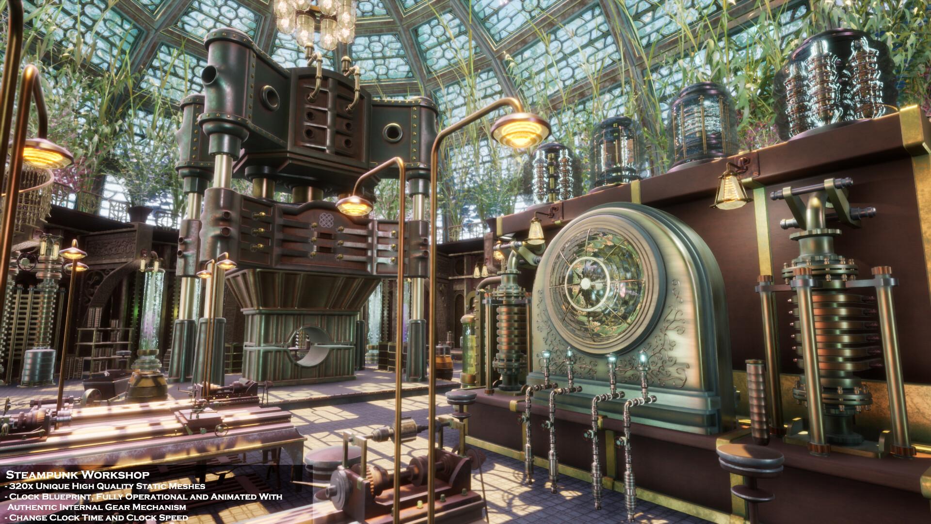 Artstation Steampunk Workshop Unreal Engine 4 Chetan Biswas