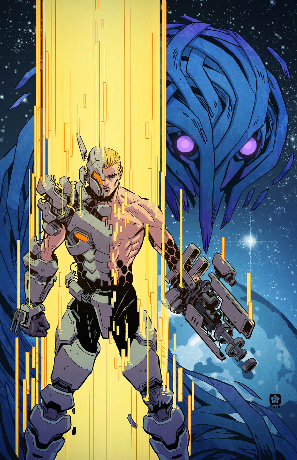Honeycomb #1 Cover
