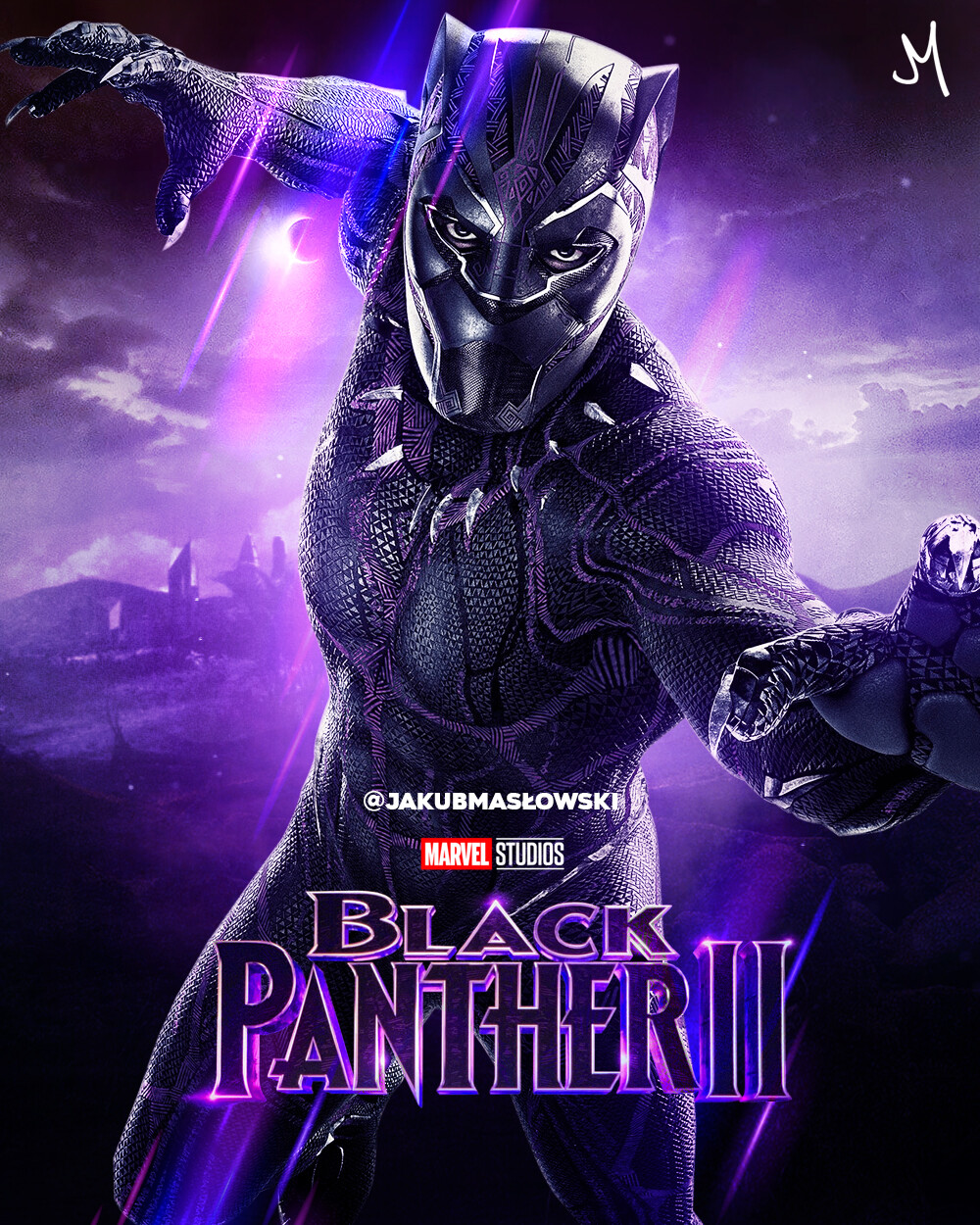 Artstation Black Panther Ii Jakub Maslowski