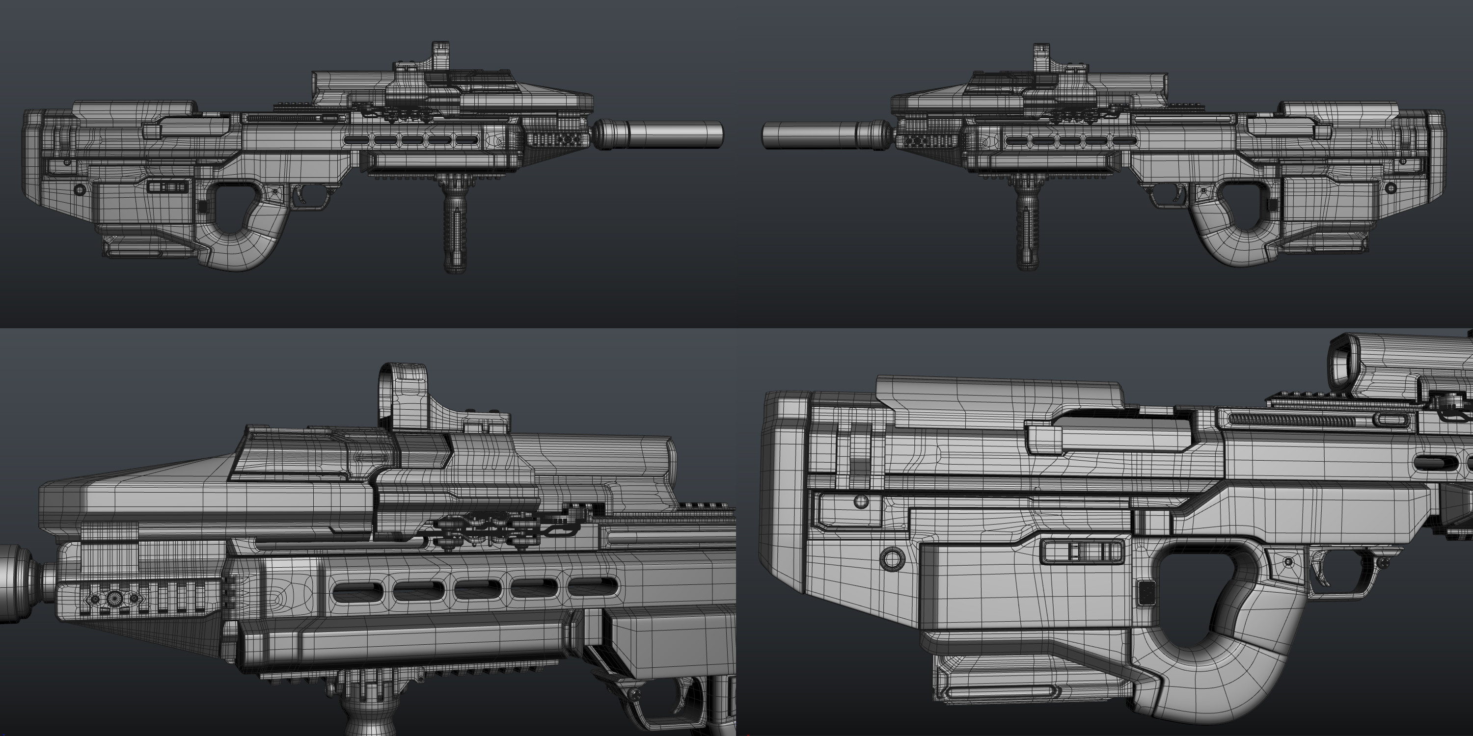 Highpoly in 3DS Max
