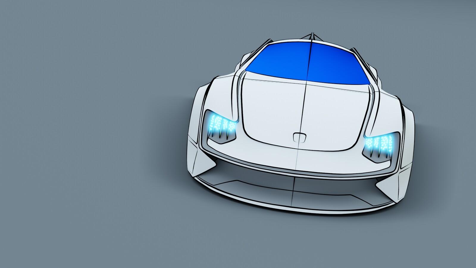 Blender rendering
