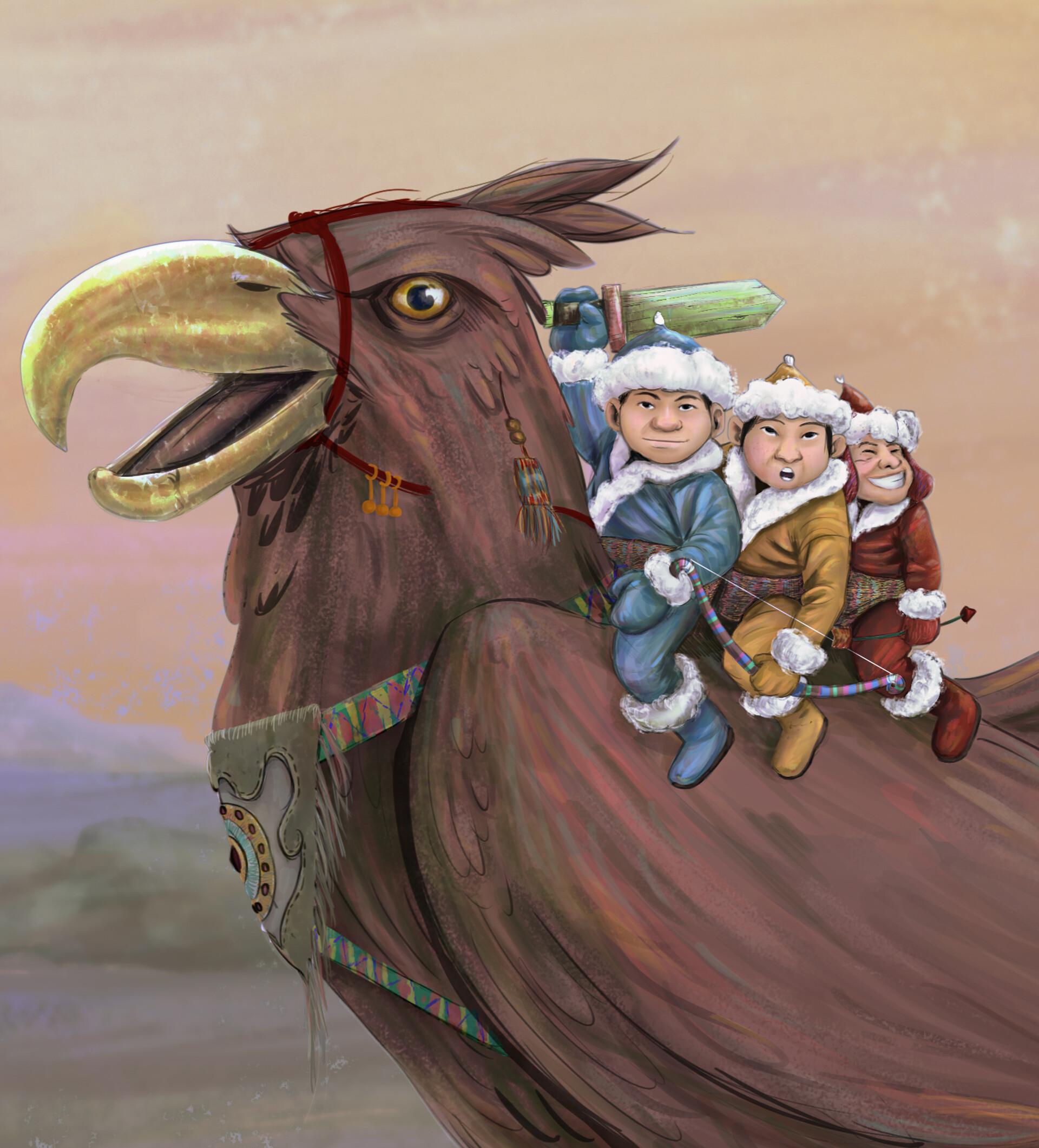 Italo gaspar curandeiro de aguias guerreiras 2