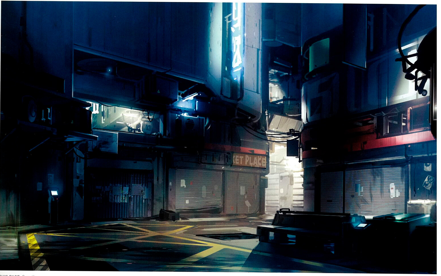 Concept art from 'The Art of Halo 5'.