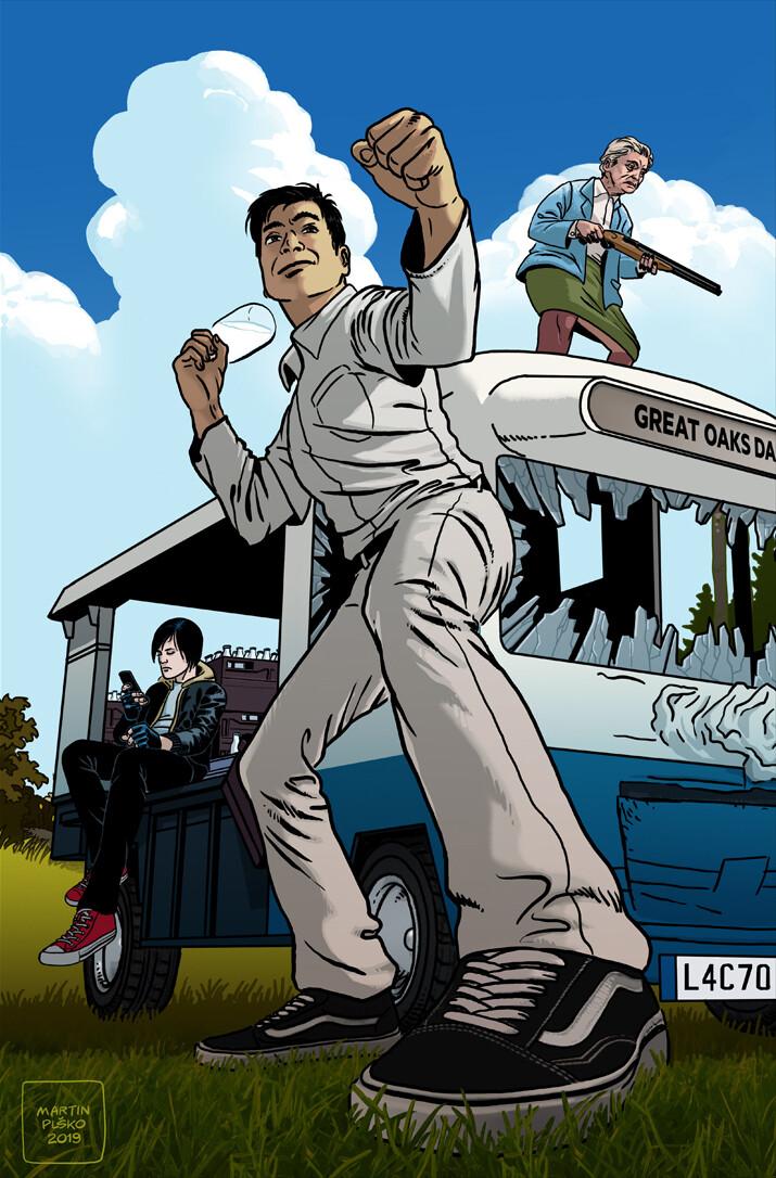 Martin plsko milky poster artstation