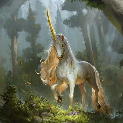 Rudy siswanto prized unicorn color