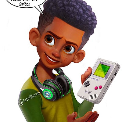 Mervin kaunda game boy