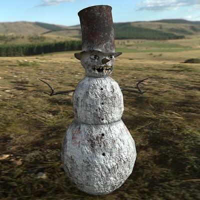 Anton kiryakin snowman