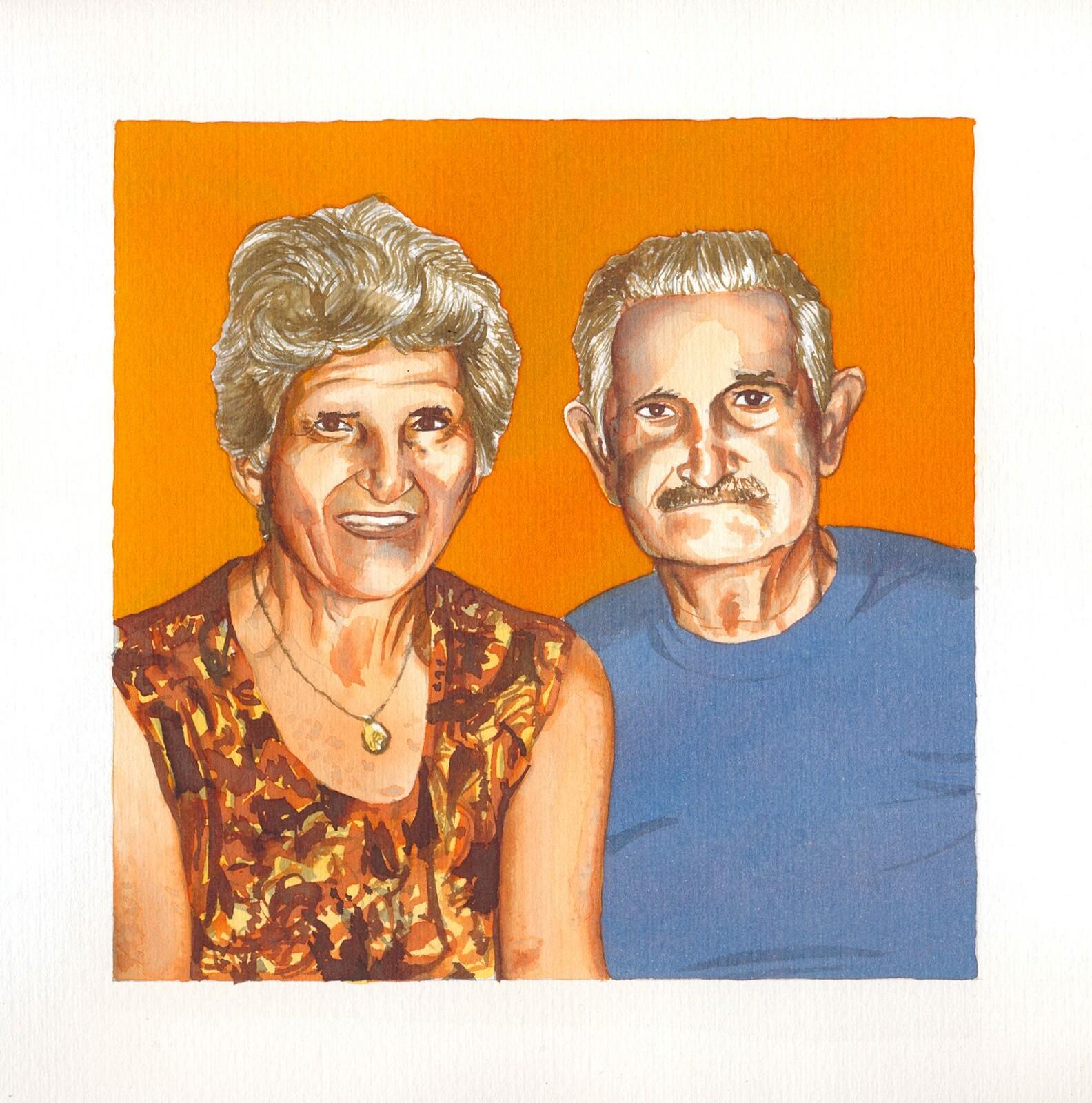 My late grandparents.