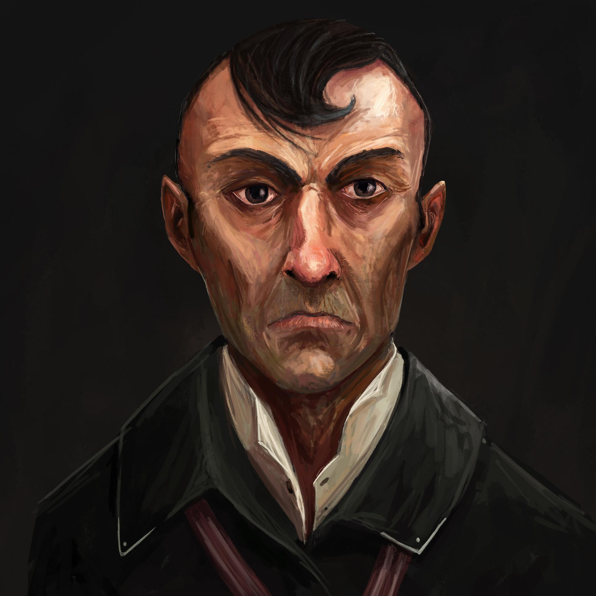 Jack dowell portrait evil guy
