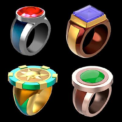 Ring 3D Render Tests / Prep