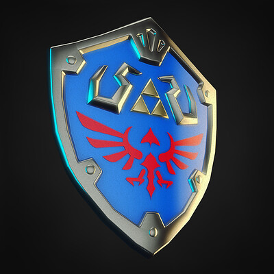 Felipe blanco hylian shield 01