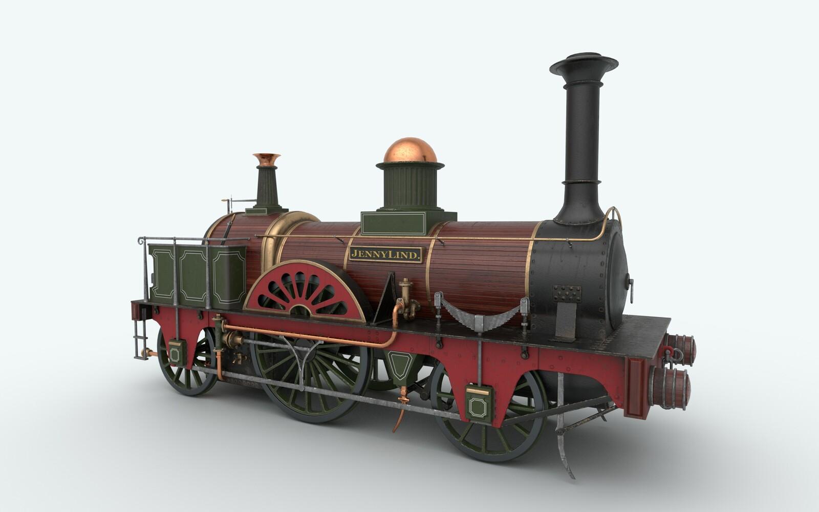 Jenny Lind (historical train)