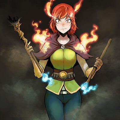 A shipwright witch