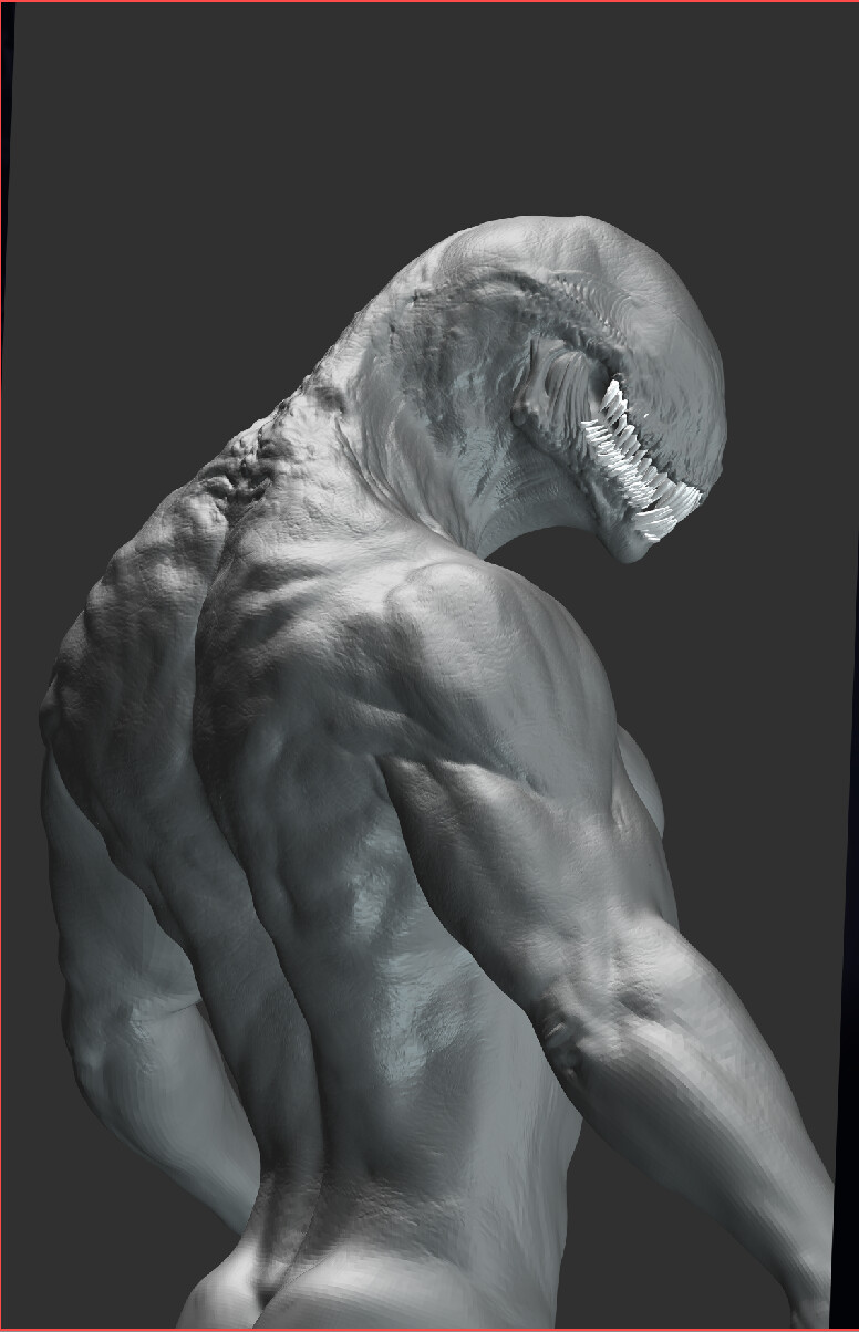 base sculpt render