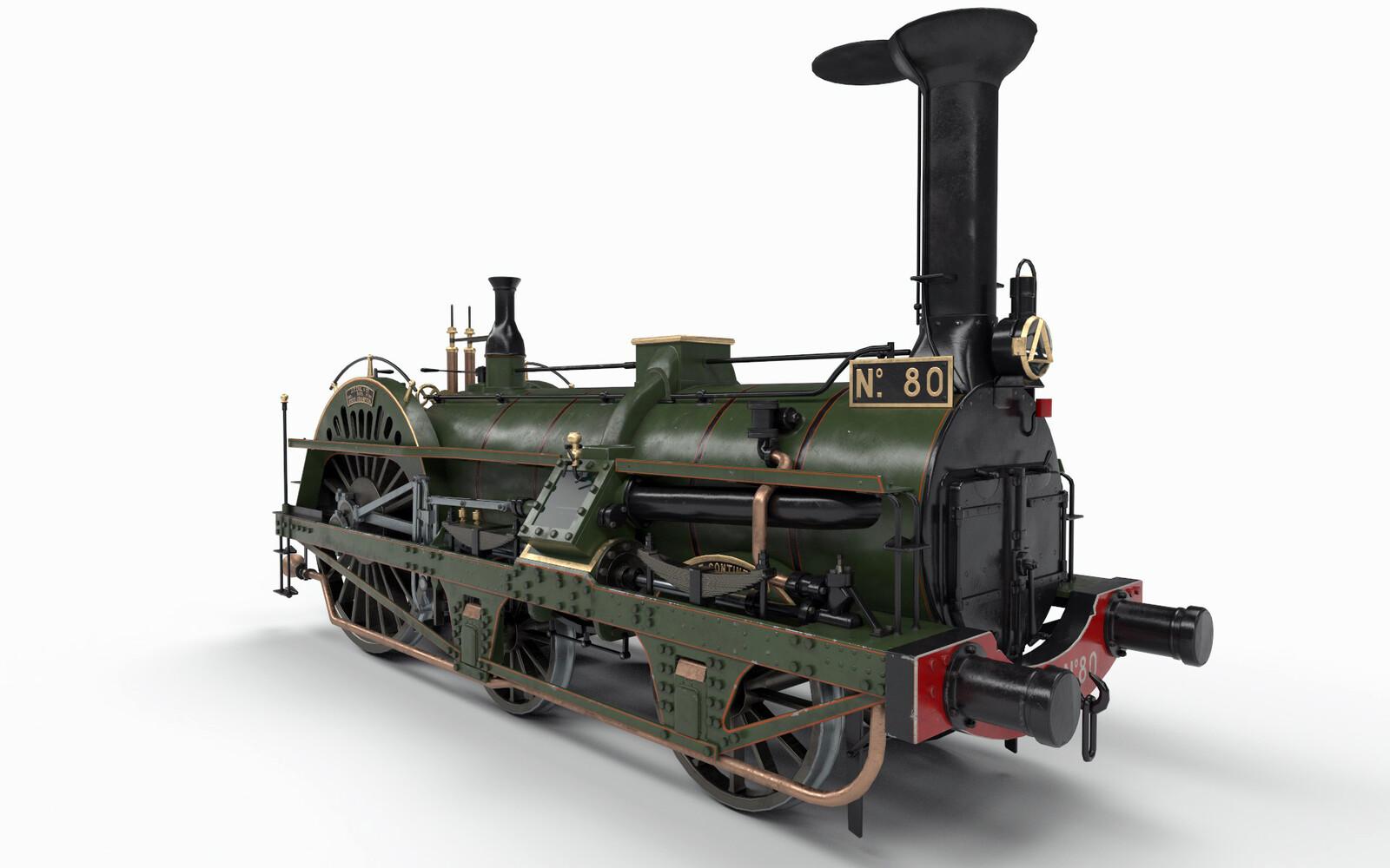 Le Continent (historical train)