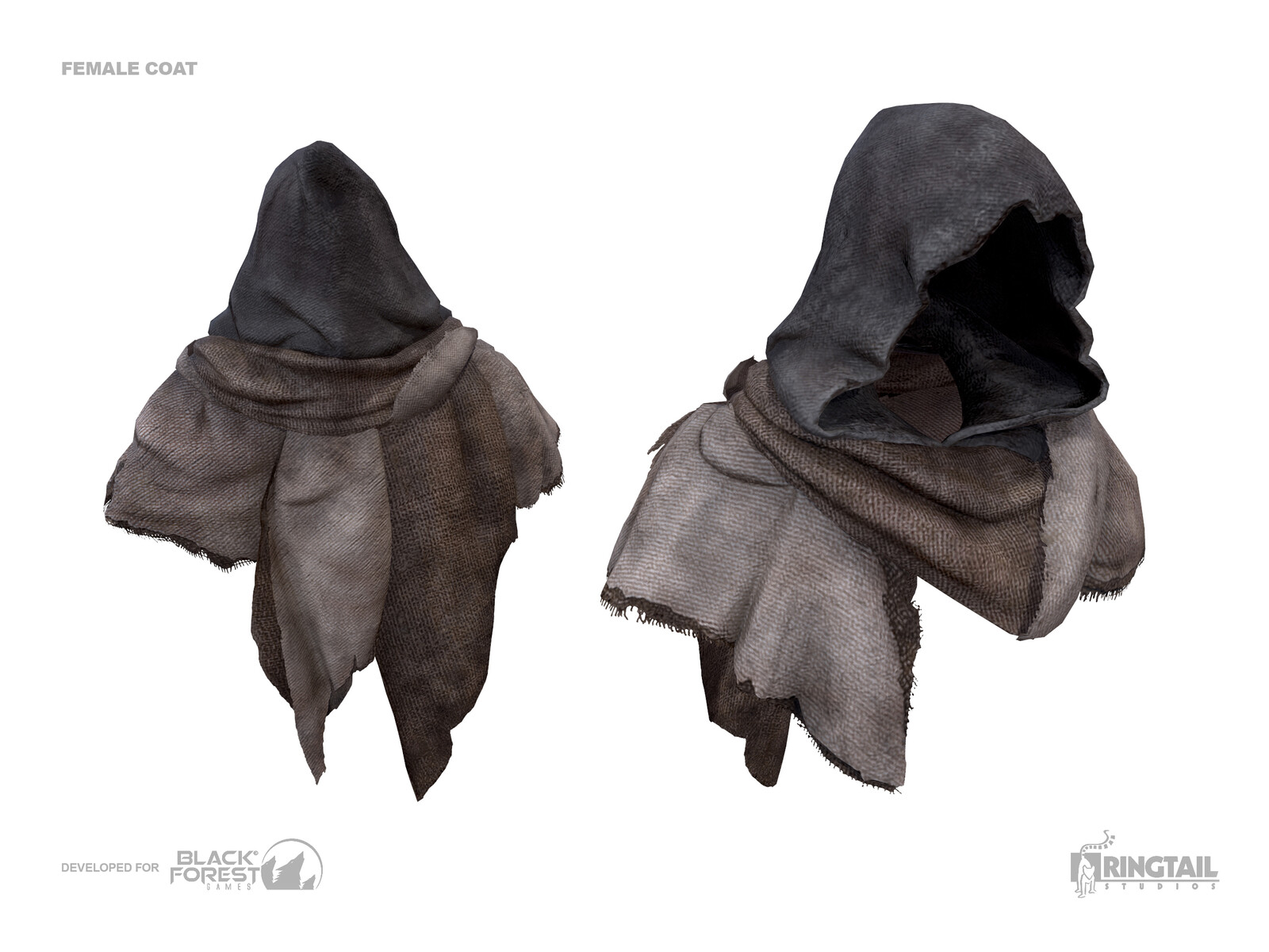 Female Coat Hood