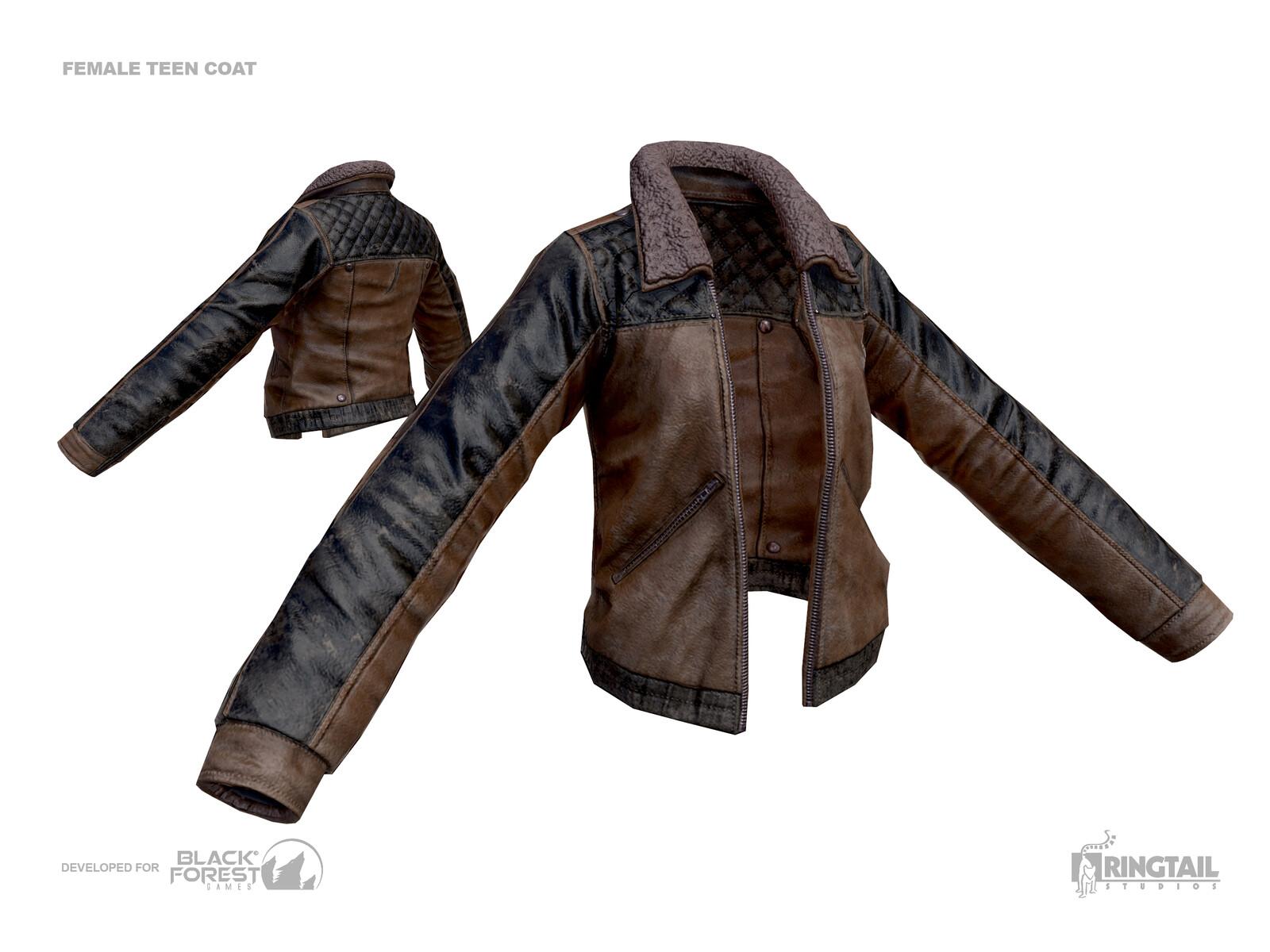 Female Teen Coat