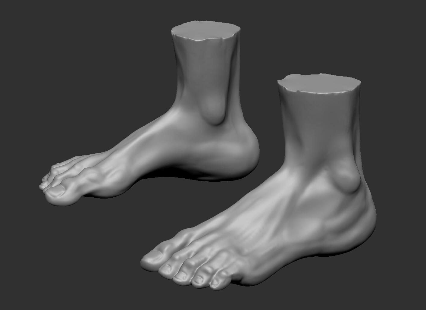 Feet Sculpt
