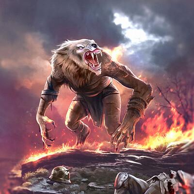 Ludovic sanson werewolf10hd