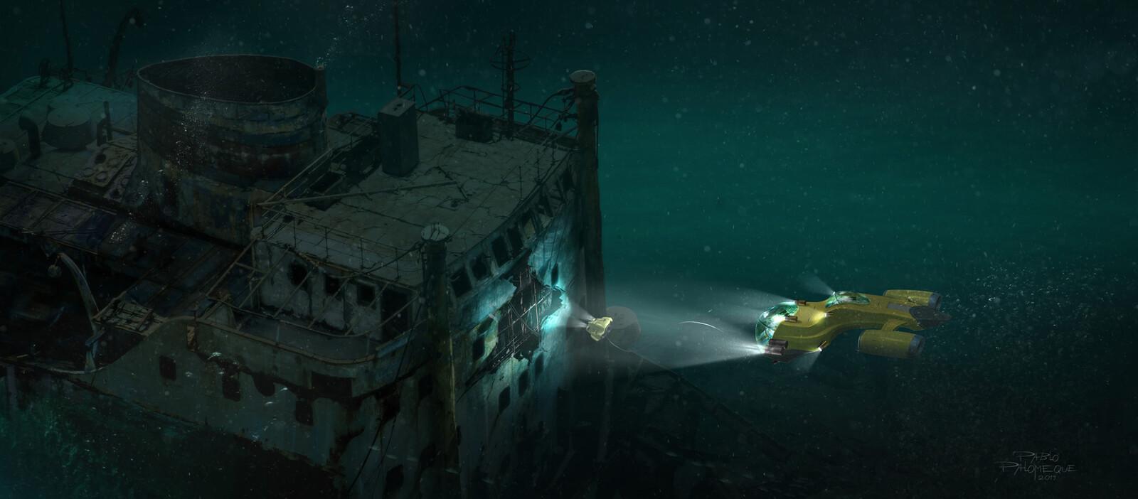 Deep Wreck