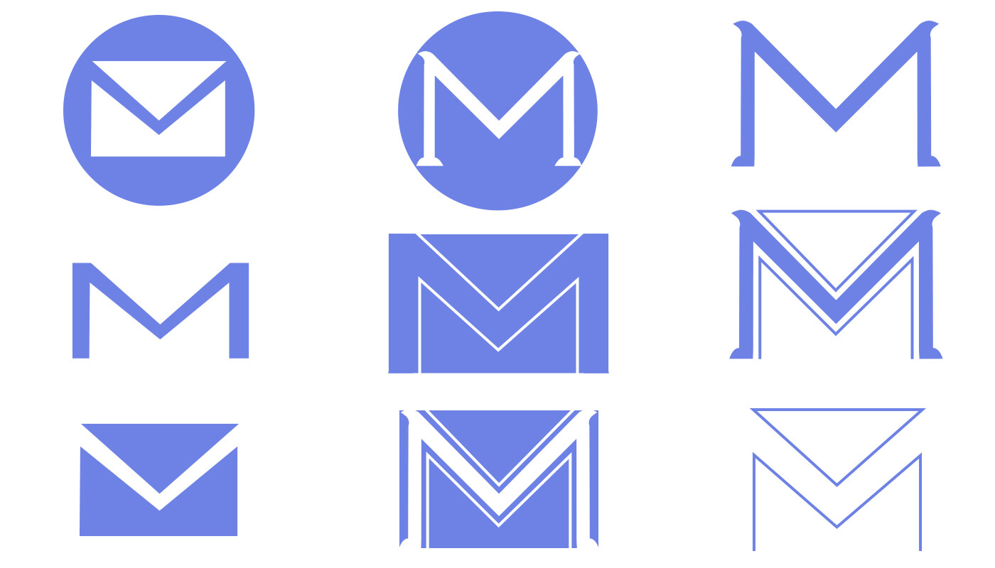 Several icon concepts to accompany the logo