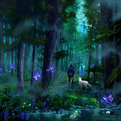 Nele diel blackwood forest