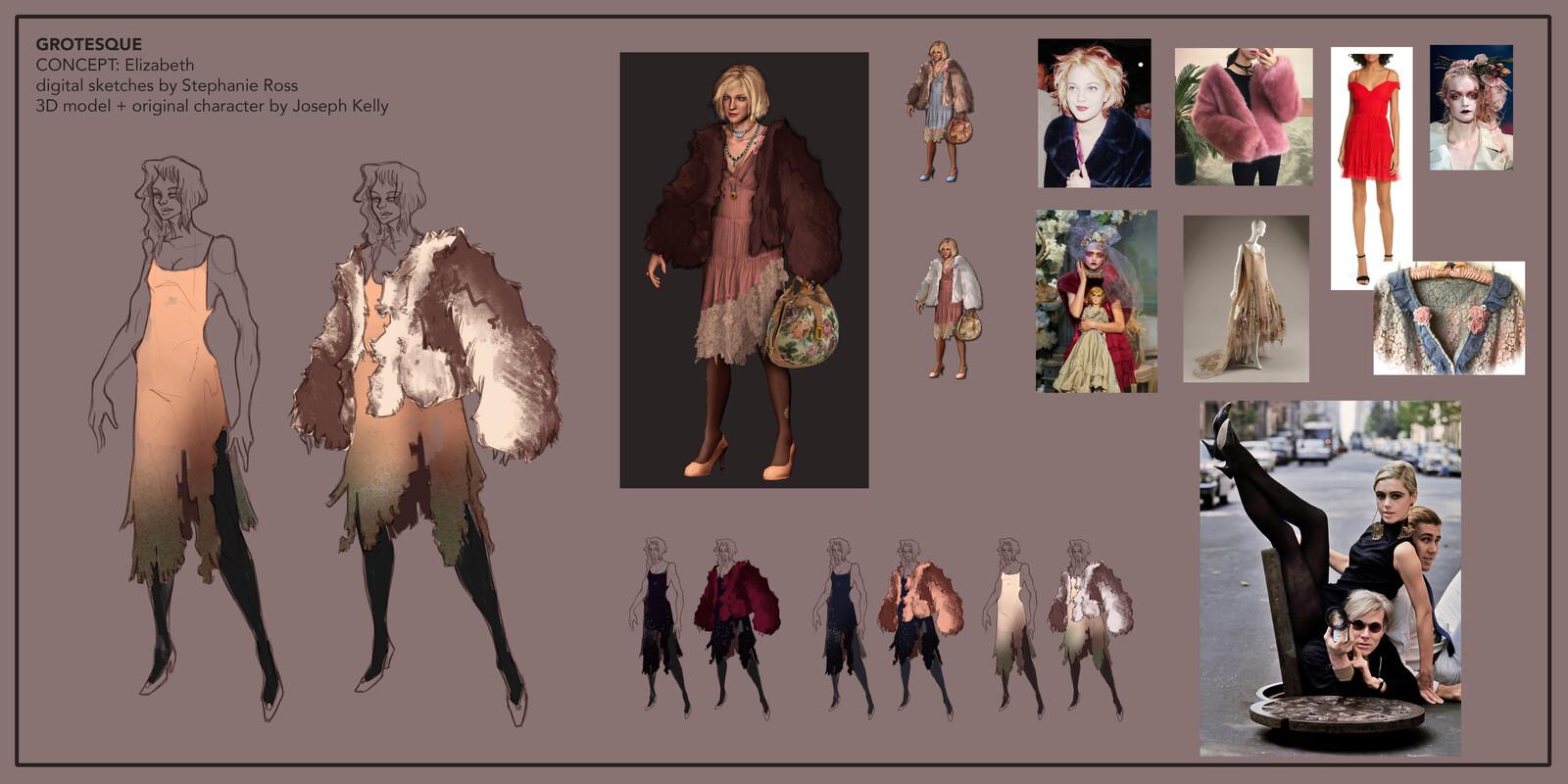 Grotesque: Elizabeth concept