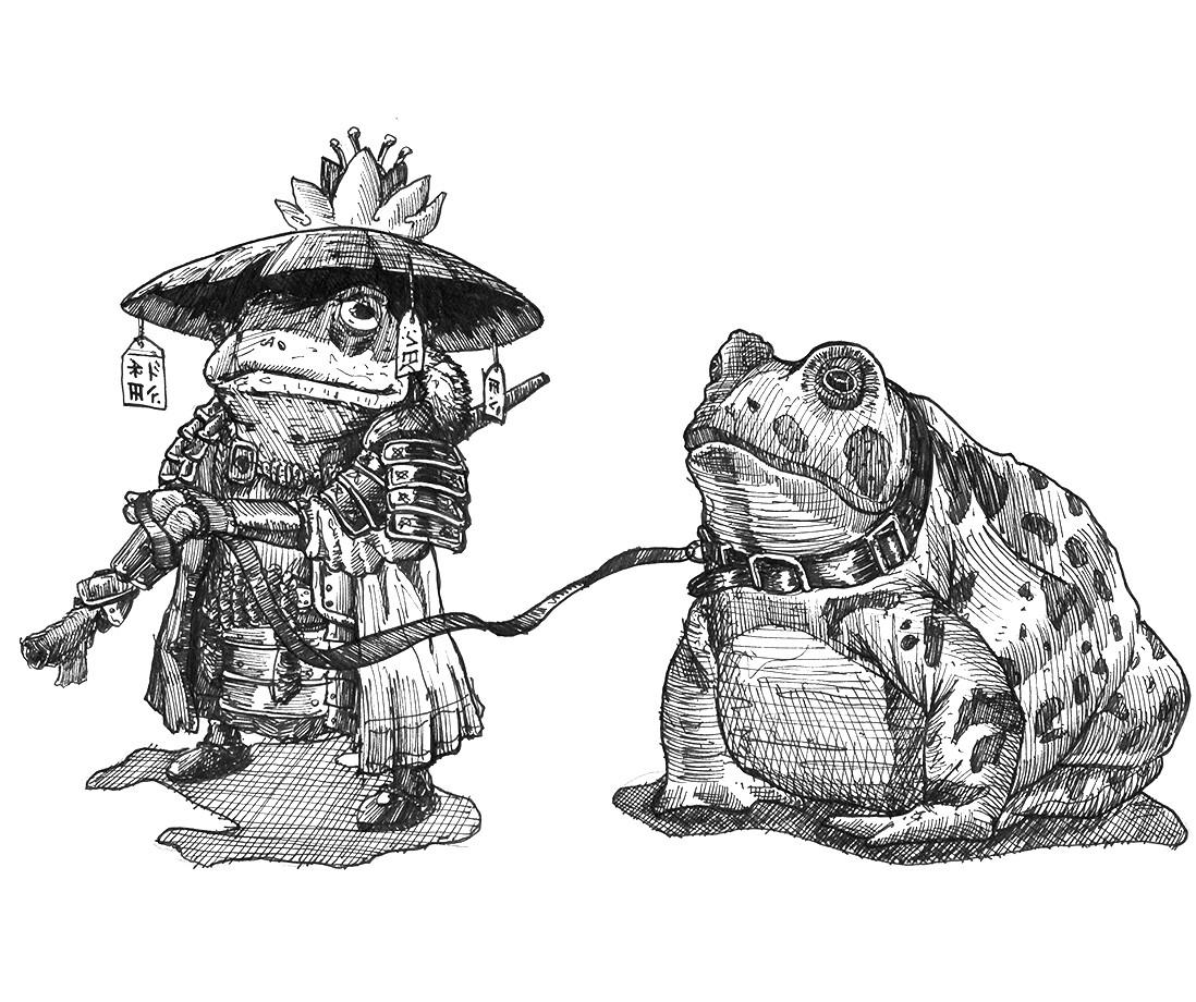 Francisco Garay Samurai Frog