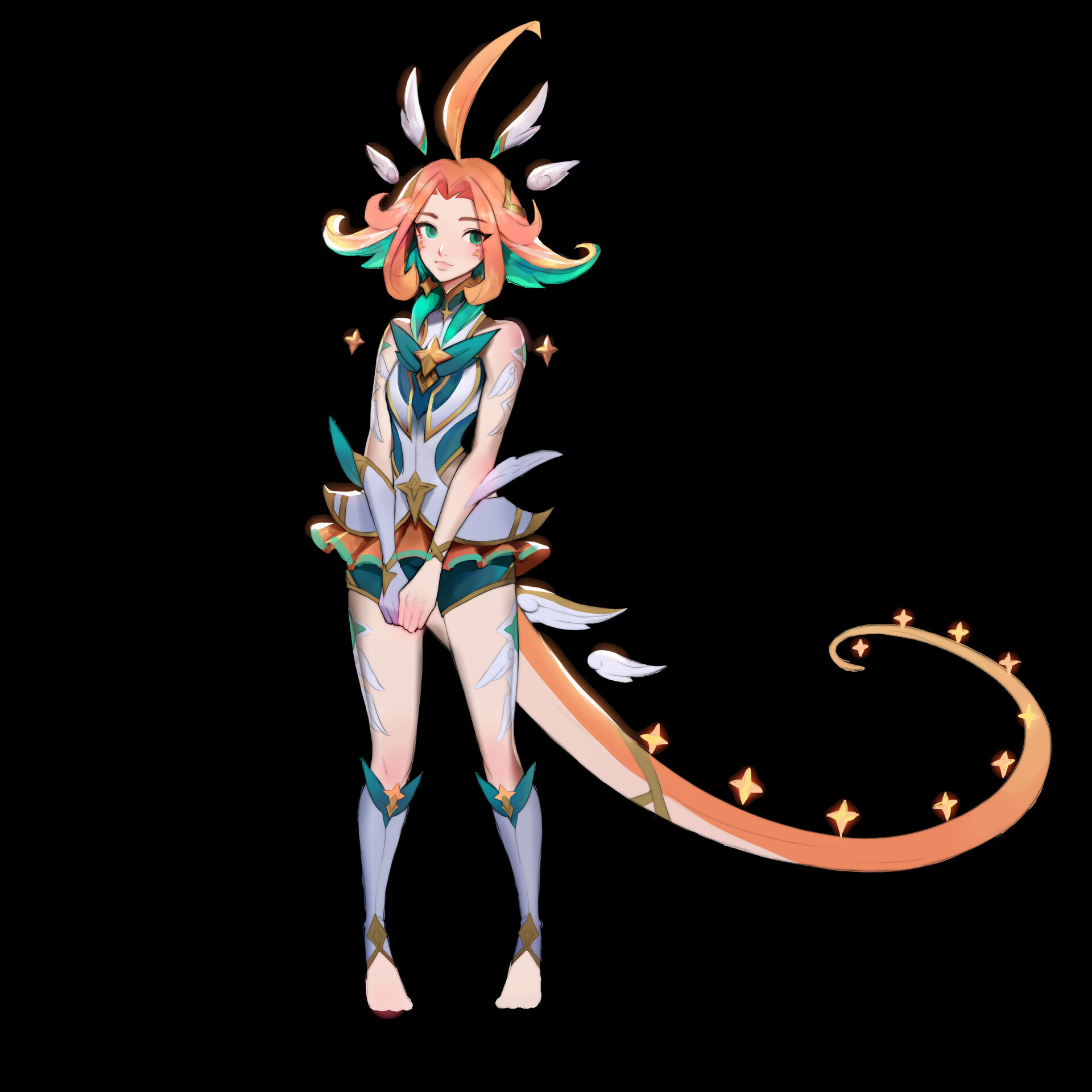 Early concept for Neeko