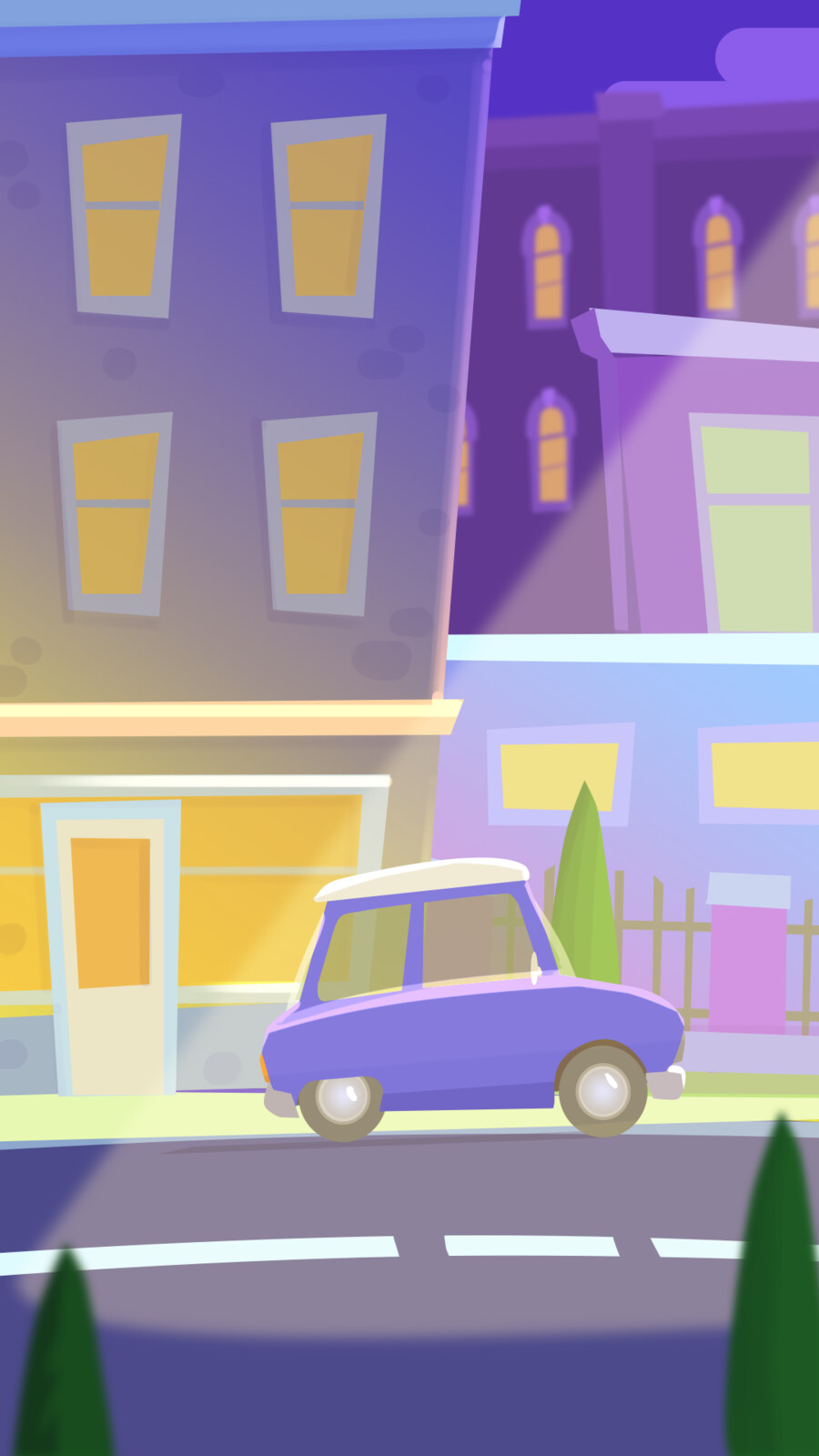 "Background ""Night Town"" p.2"
