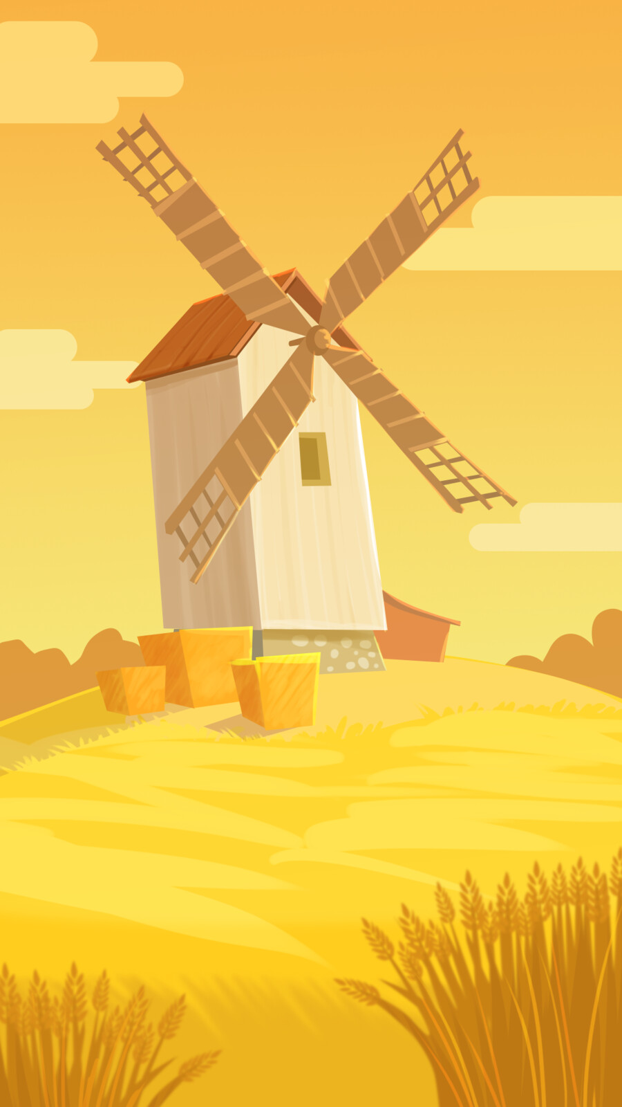 "Background ""Windmill"""