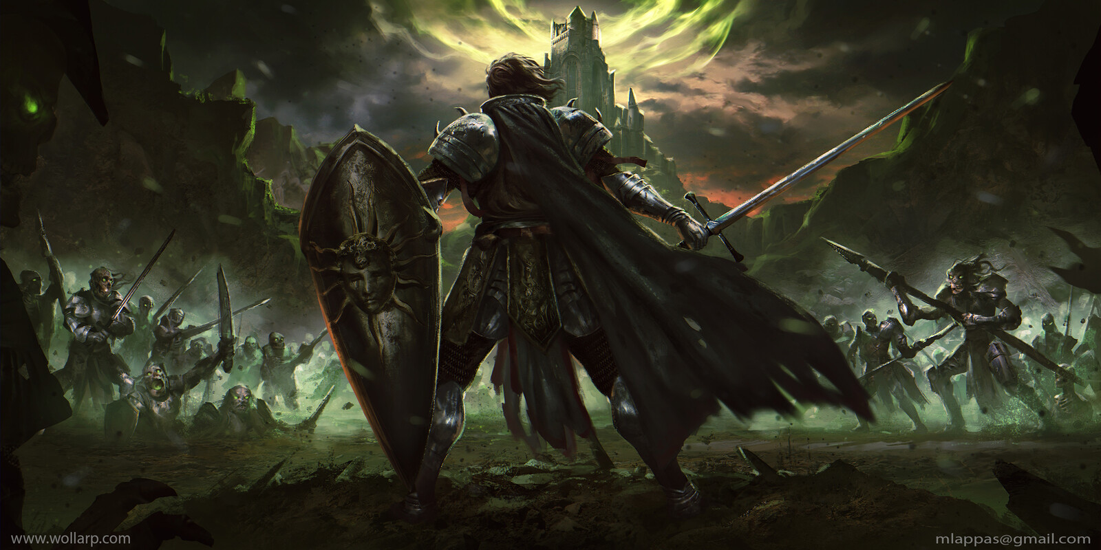 """Sir Roland and the Undead Horde """"Warriors of Light"""""""