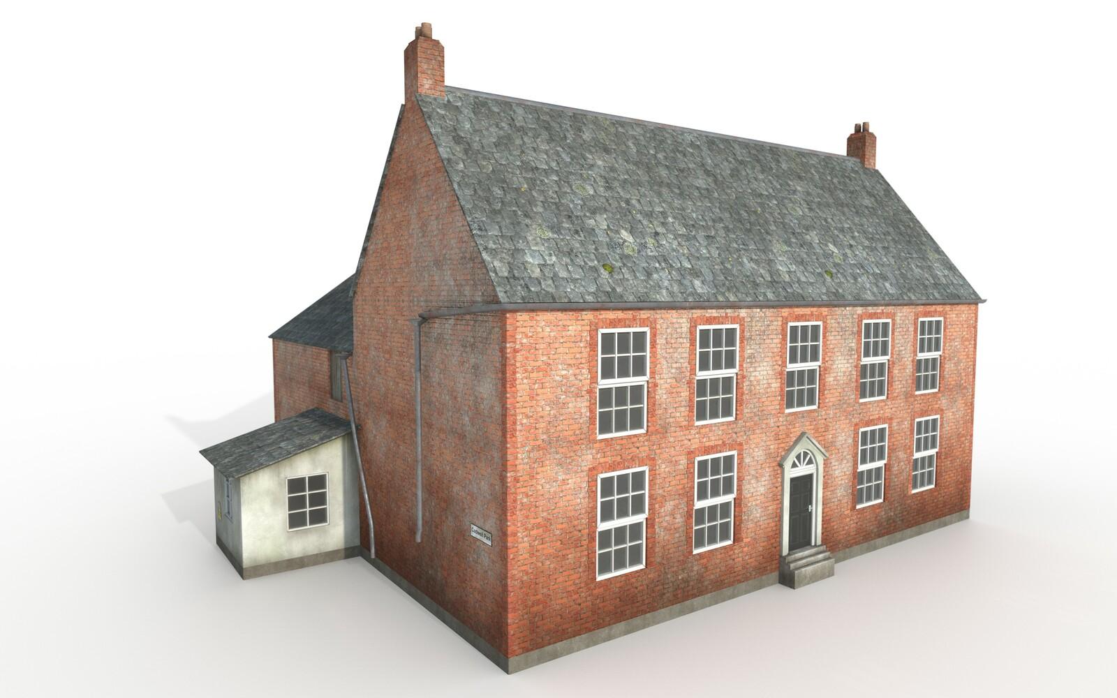 Red Bricks Building